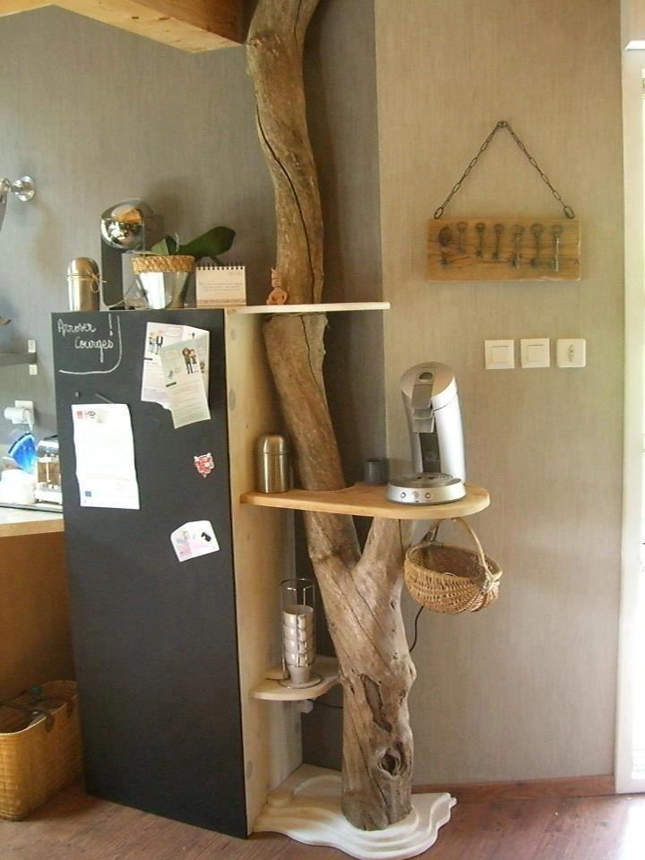 Decora o com troncos imagem 15 galhos gravetos for Como tratar un tronco de madera para decoracion