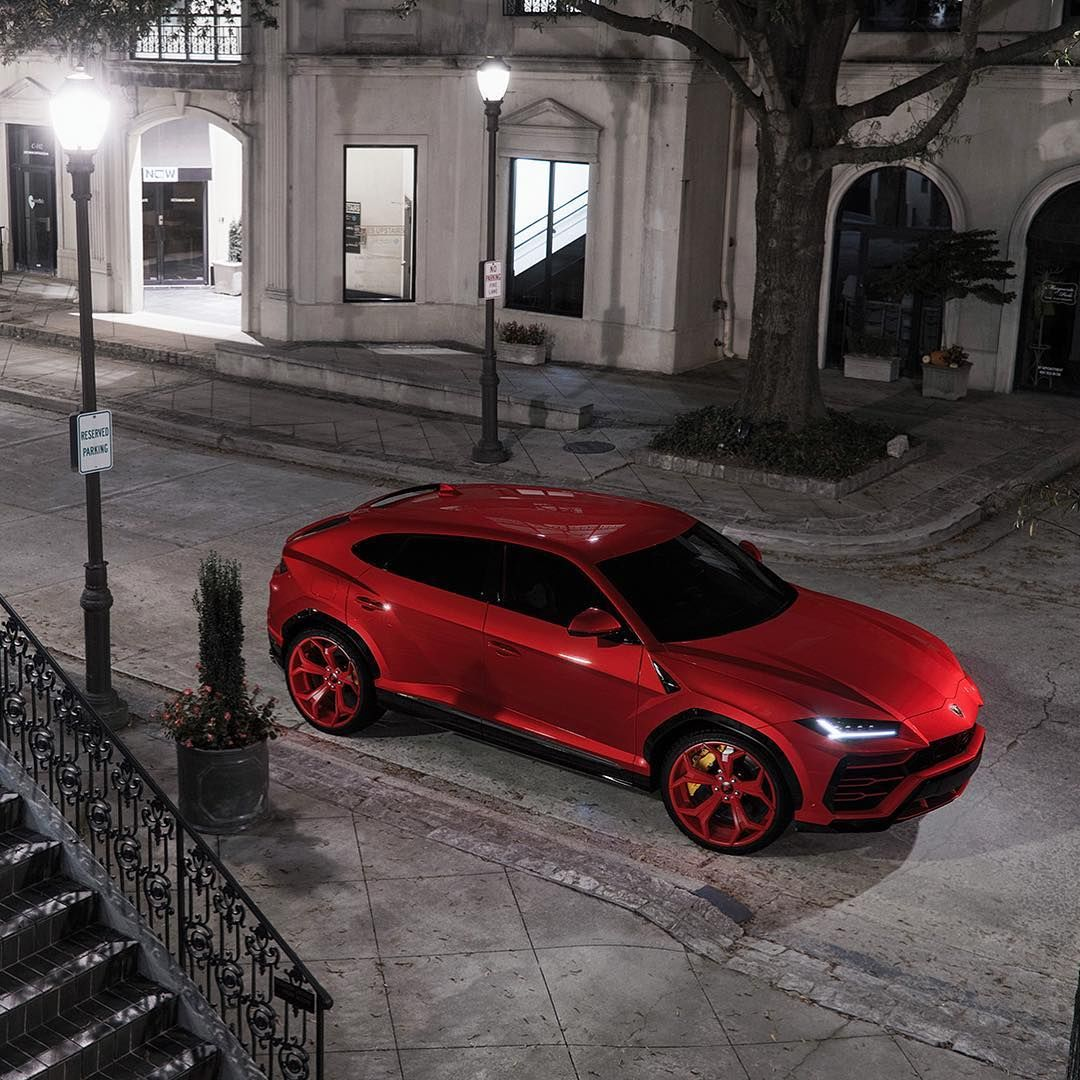 Lamborghini Urus On Forgiato Wheels Sweet Rides Pinterest