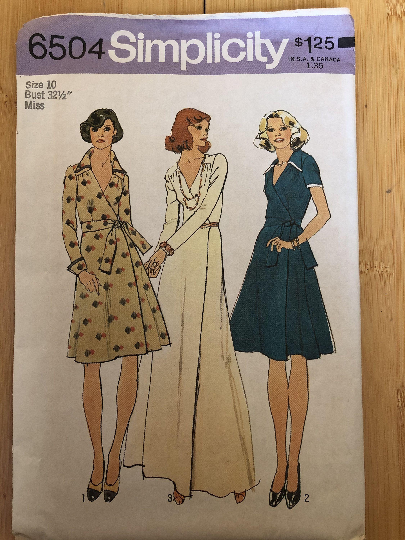 Vintage 70s Simplicity 6504 Uncut Sewing Pattern Size 10 Etsy Sewing Pattern Sizes Vintage 70s Sewing Patterns [ 3000 x 2250 Pixel ]