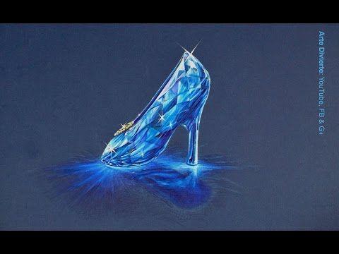 Cómo dibujar un corazón de cristal - 3D - YouTube  83ce84297d3e