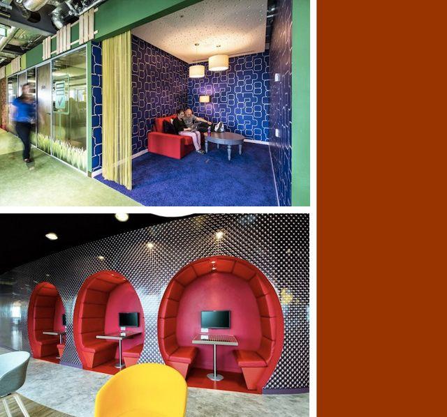 oficinas-de-google-diseño | Decoración | Pinterest | oficina de ...