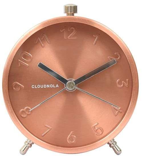Cloudnola Glam Alarm Clock, Rose Gold images