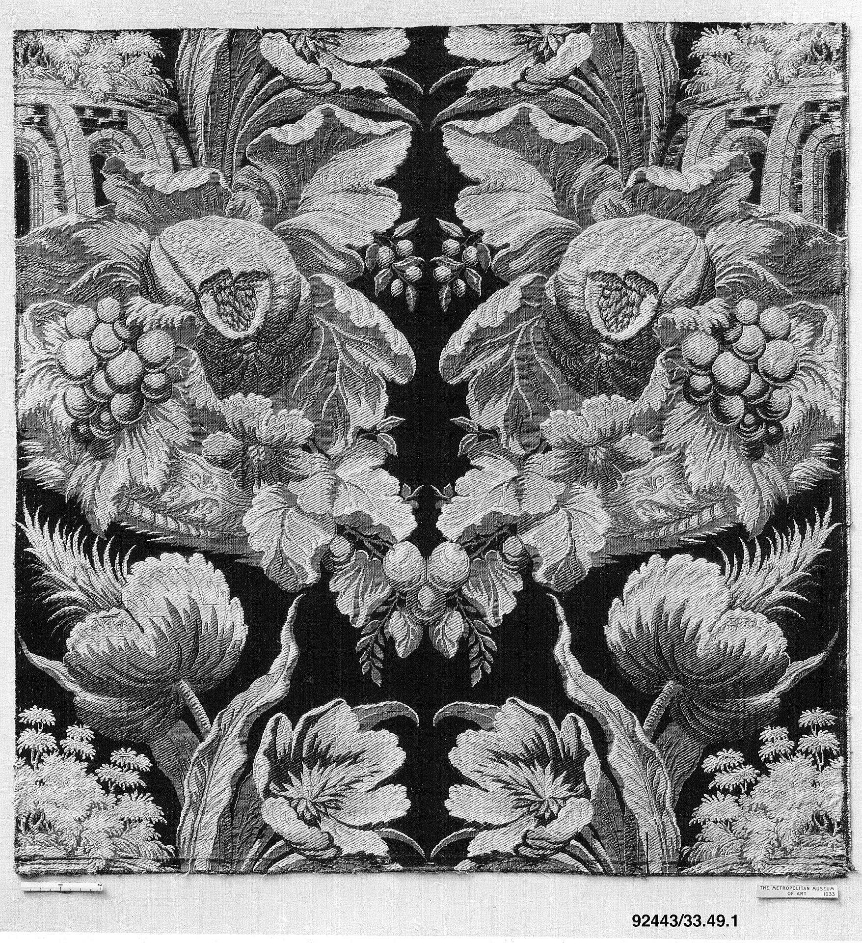 Fragment d'un tissu conçu par Jean Revel (con imágenes
