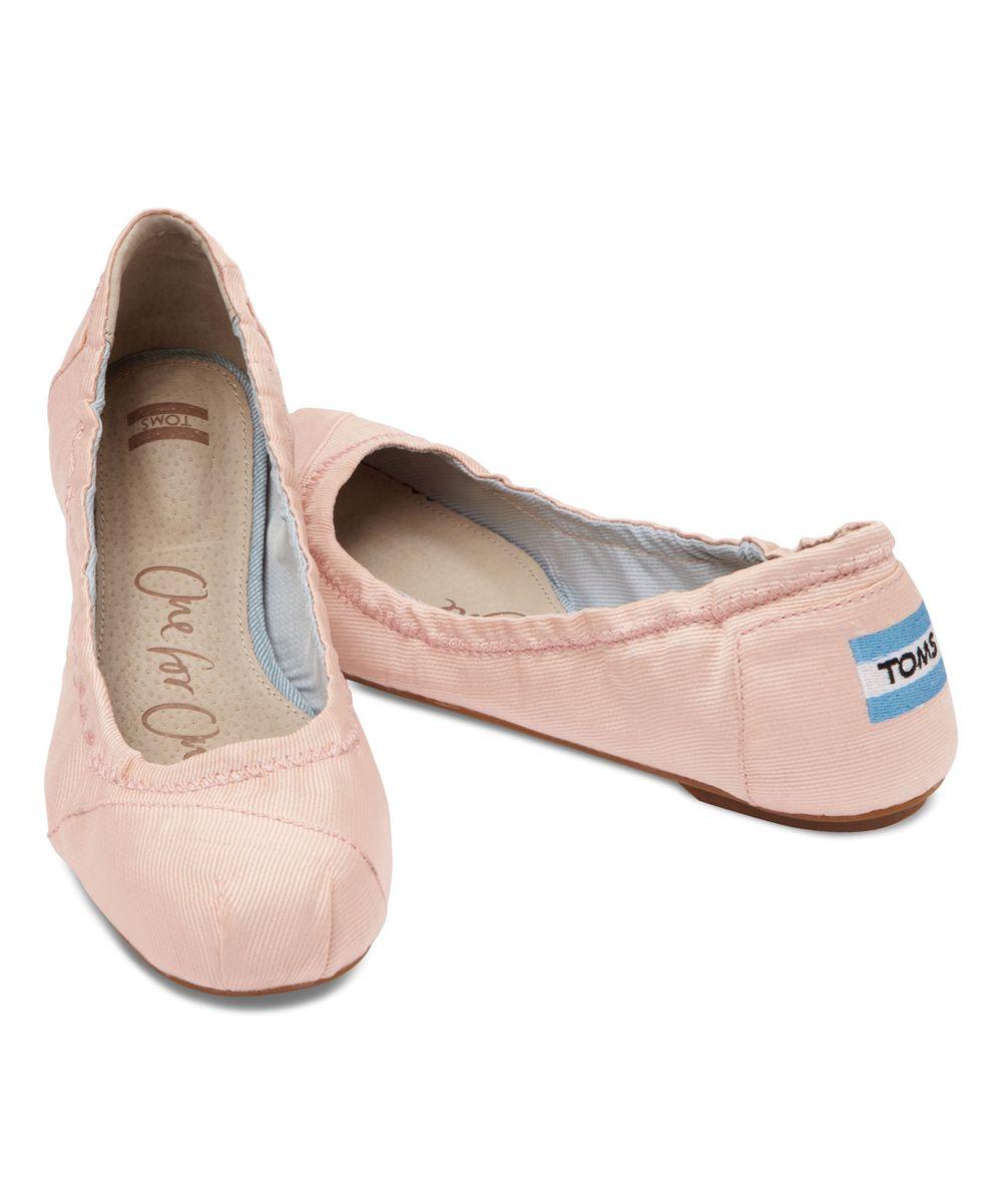 d9b5a6484fa9 TOMS Petal Grosgrain Ballet Flat