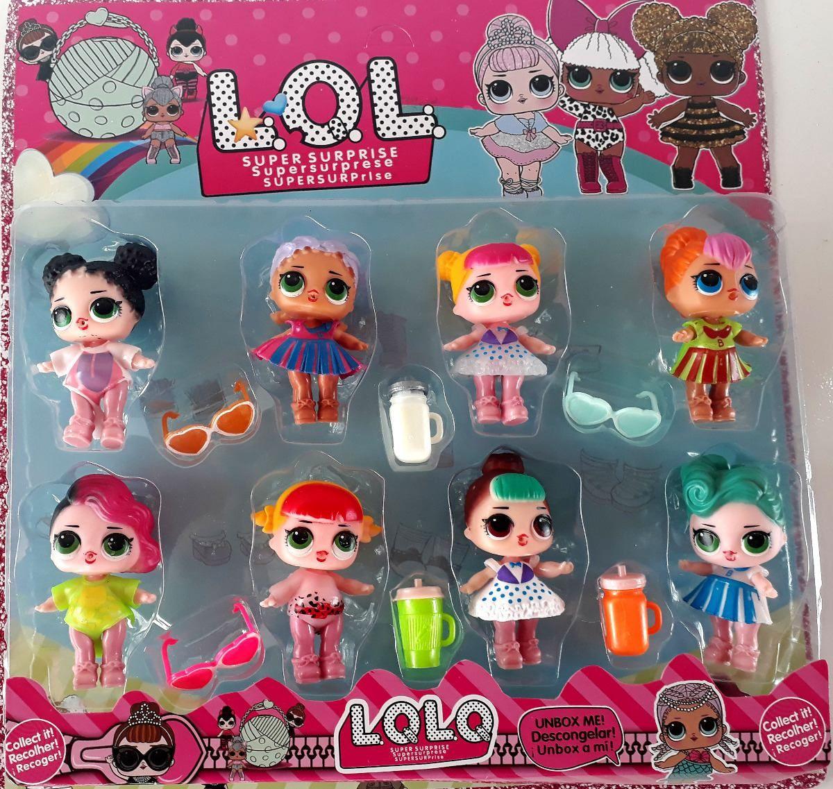 Fake Lol Dolls Lol Dolls Little Girl Toys Candyland Birthday