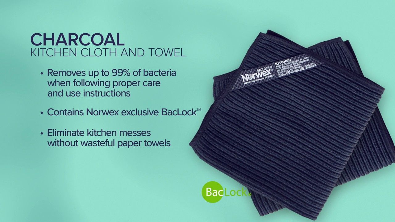 Kitchen Towel And Cloth Set Charcoal Kitchen Norwex Chemical Free Cleaning