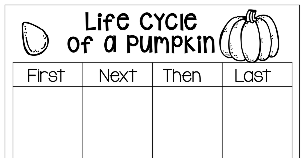 Fresh Ideas - Life cycle of pumpkin.pdf Life cycles, Life, School