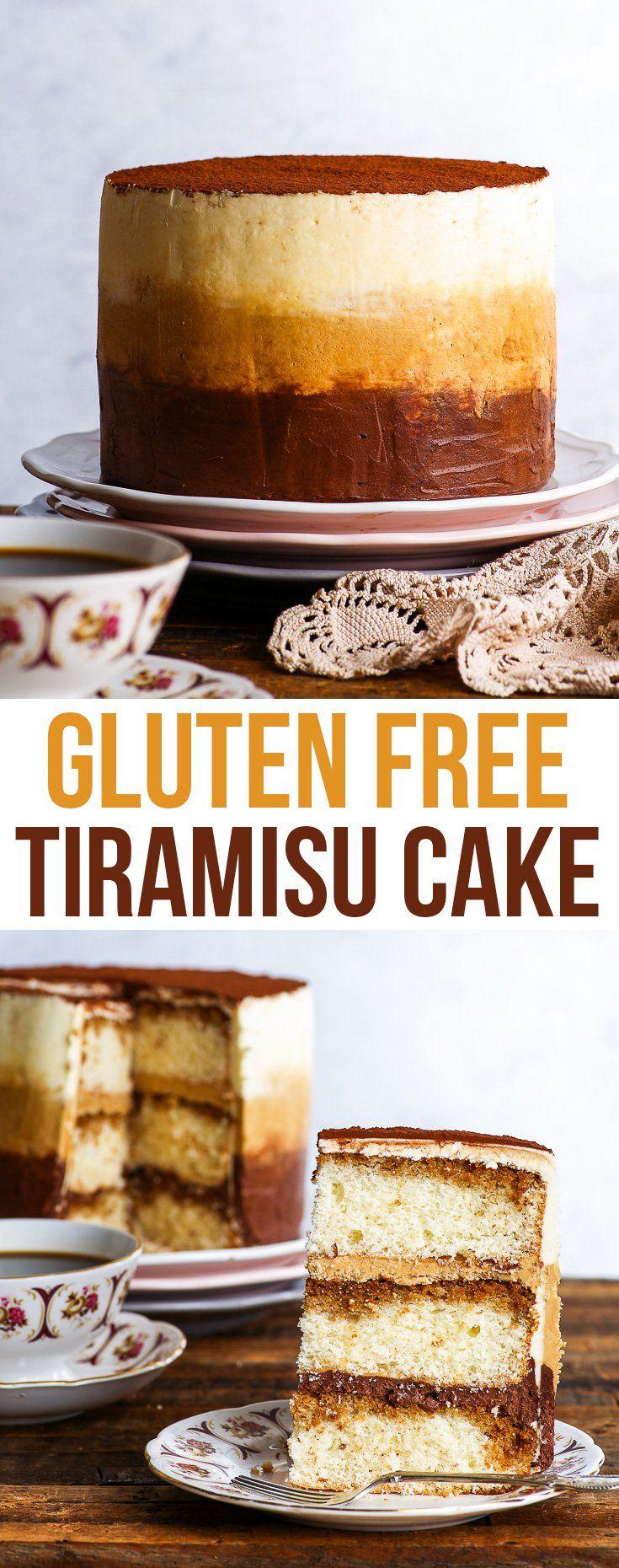 Gluten Free Tiramisu Cake - The Loopy Whisk -   20 cake Pretty gluten free ideas