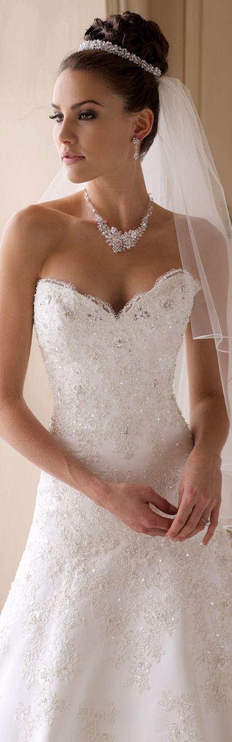 Hochsteckfrisur mit Schleier #wedding #bride #veil