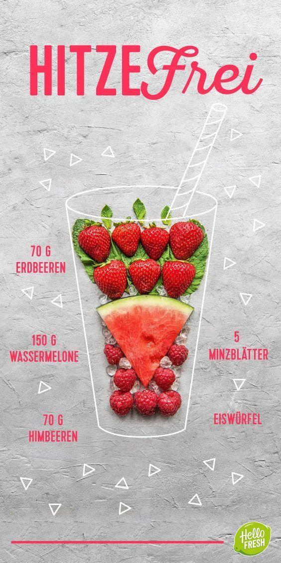 Diese Sommer-Smoothies solltest Du unbedingt ausprobieren #dairyfreesmoothie