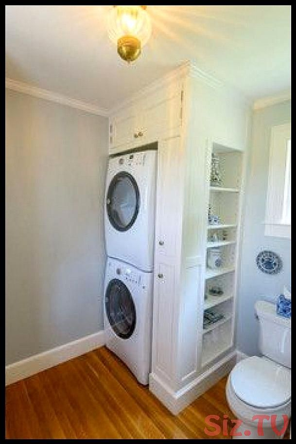 Stacked Washer And Dryer Laundry Room Design Ideas Pictures Remodel And Decor Do Bathroom Design Decor D Laundry Room Design Closet Layout Laundry Room Storage