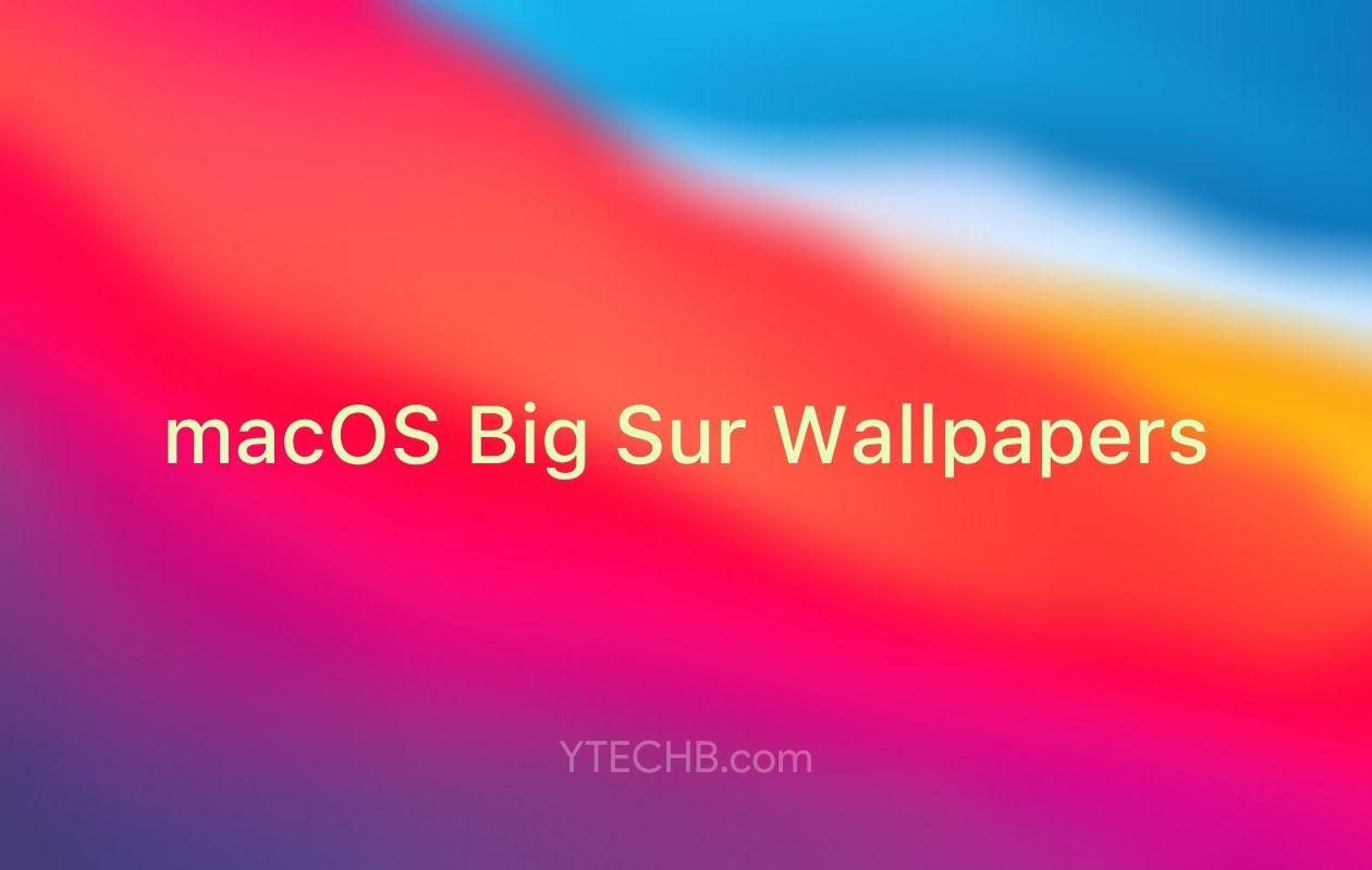 Download Macos Big Sur Wallpapers In 2020 Big Sur Wallpaper Best Iphone Wallpapers