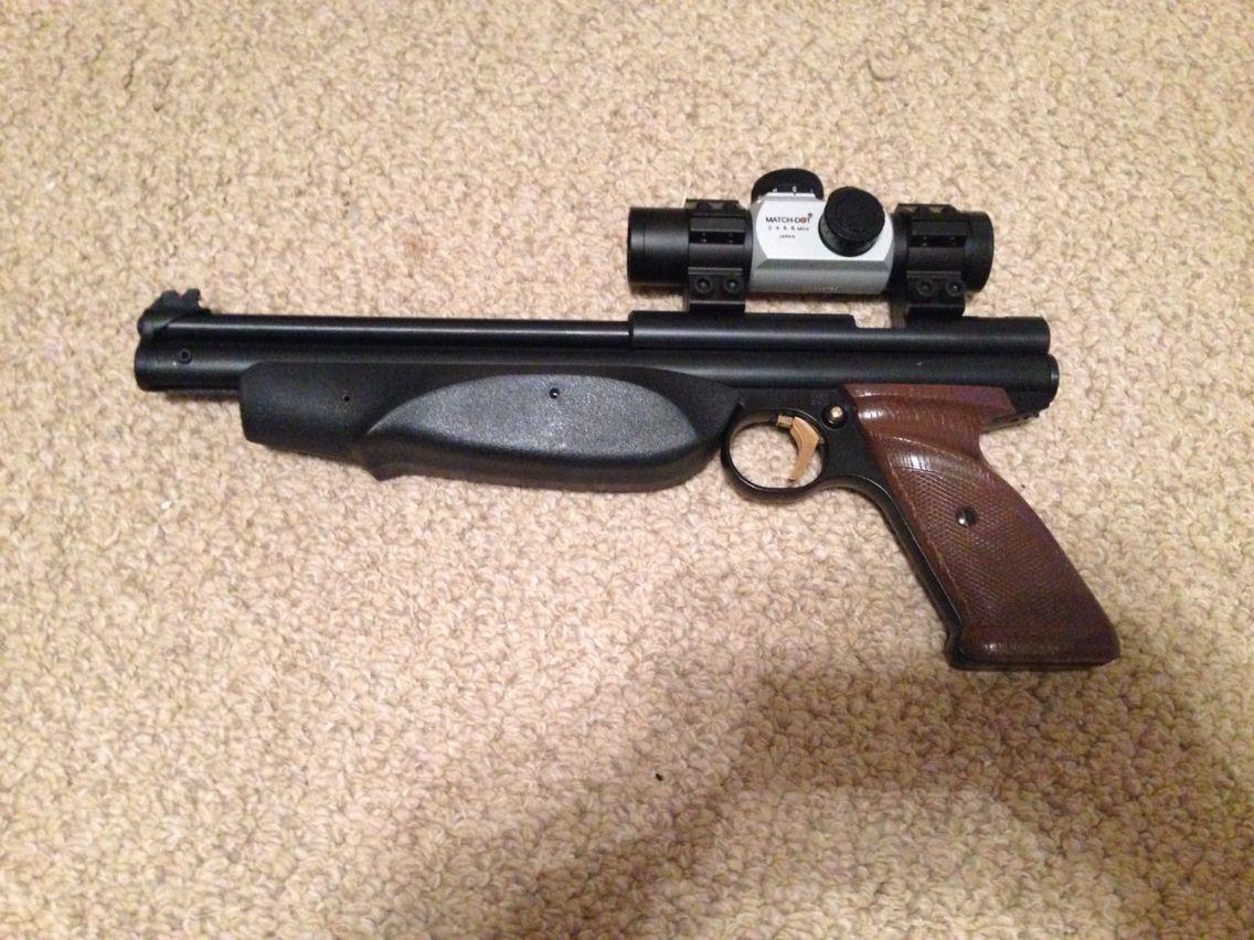 Latest work, Crosman 1377 American Classic  Upgraded trigger