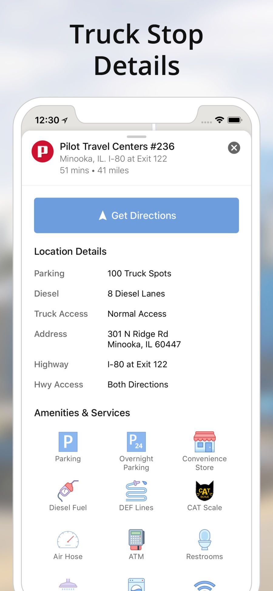 Truck Gps App >> Truckmap Truck Gps Routes Travel Navigation Apps Ios Top Iphone