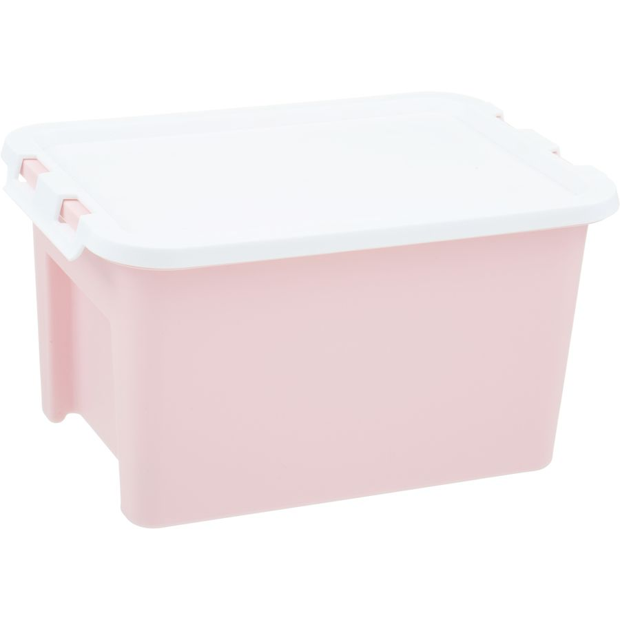 House Home 4 Litre Plastic Storage Container Pink Big W Big Storage Boxes Plastic Container Storage Storage Containers