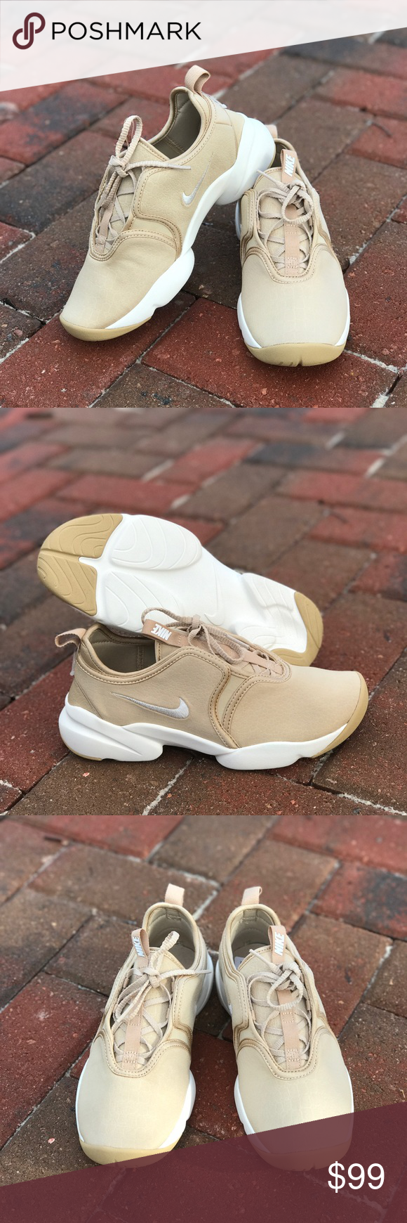 ca66bccbeb NWT Nike Loden Pinnacle Ivory WMNS Brand new, no box, samples shoes. Price