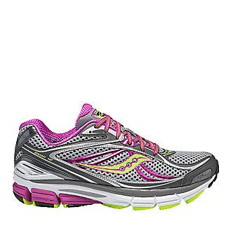 Saucony Women's Omni 12 Running Shoes pack plenty of support and stability for overpronators. This athletic shoe is the ultimate choice for runners or walkers who need moderate-to-high stability.