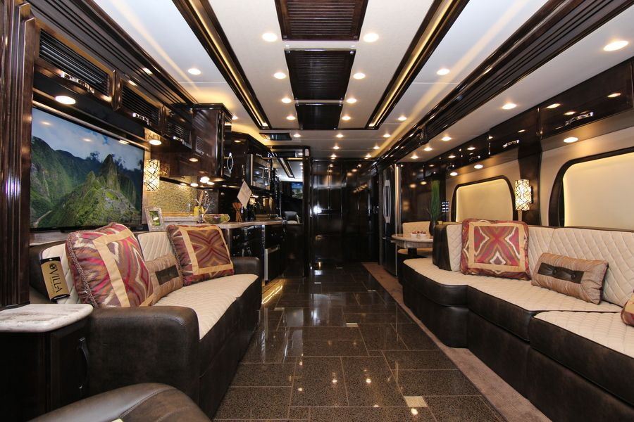 2015 0 Newmar King Aire 4553 Class A Diesel Motorhome Stock 8436 Motorhome Interior Luxury Motorhomes Luxury Rv