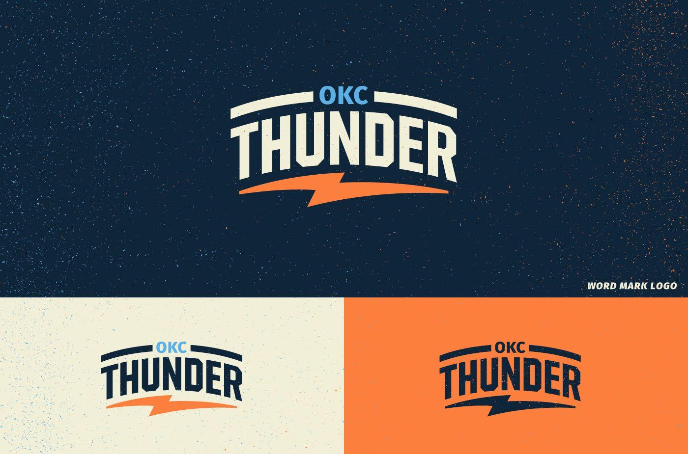 Concept for a new Oklahoma City Thunder brand identity