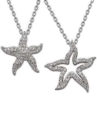 Swarovski necklace crystal double starfish pendant wish list swarovski starfish necklace i love mine aloadofball Image collections