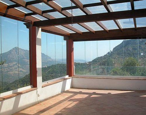 CORTINA DE CRISTAL PLEGABLES Terrazas Pinterest Pergolas - cortinas para terrazas