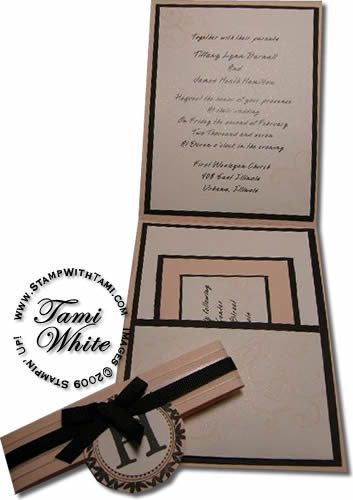 Cyber Wedding Expo Invitations Part 1 Stampin Up Wedding Invitations Wedding Invitation Stamp Wedding Invitations Diy