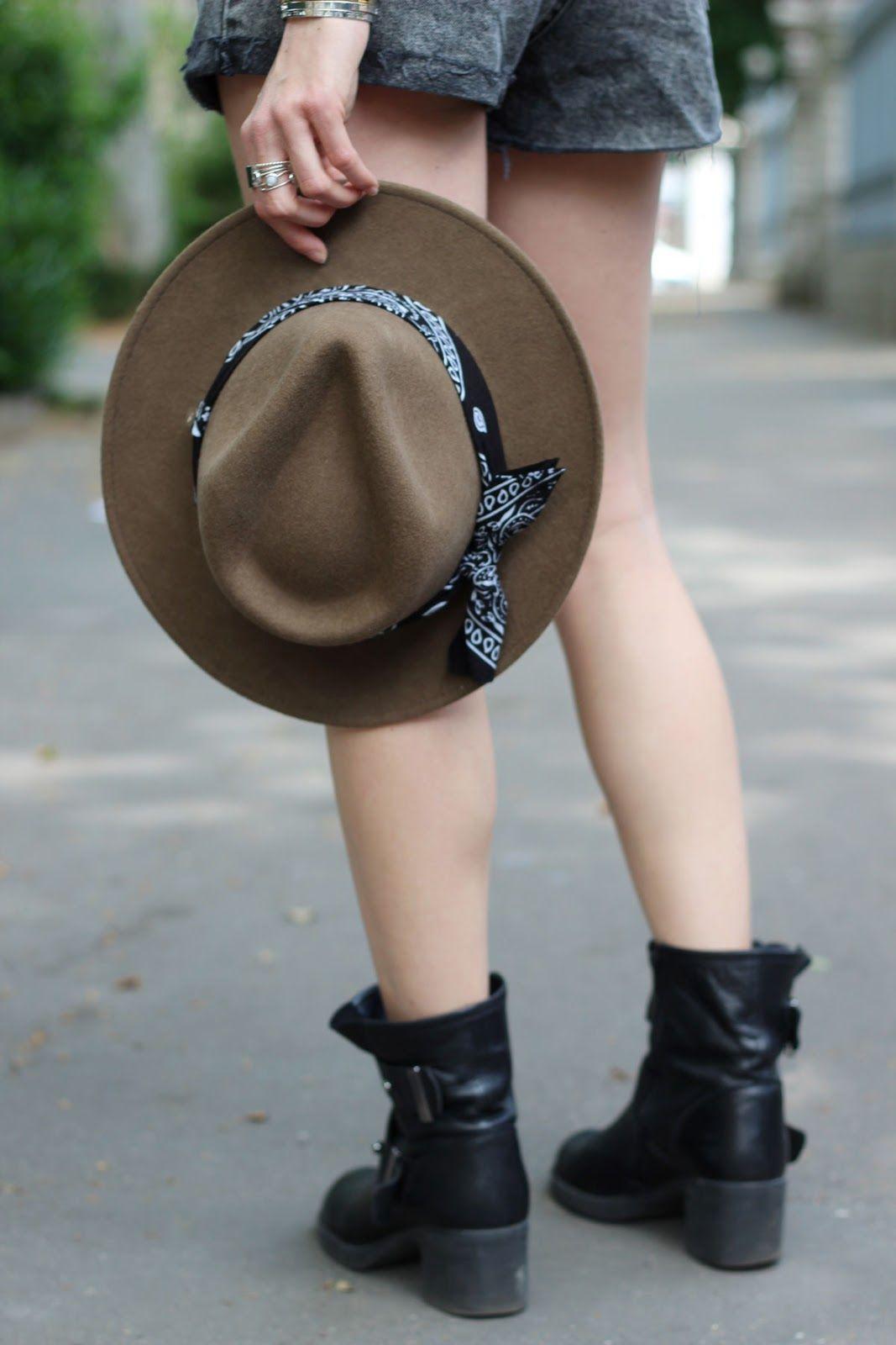 DENIM SUMMER 16 // MARIEANDMOOD // www.marieandmood.com // Hat, summer, style, blogger