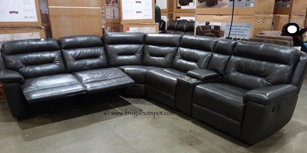 6piece modular fabric sectional costco furniture pinterest costco fabrics and ottomans - Costco Sofa
