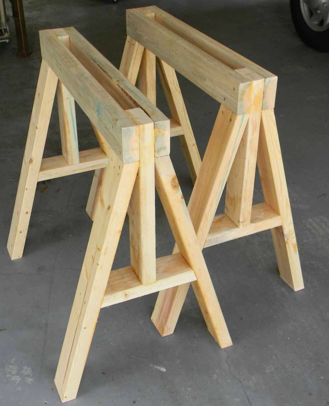 Sawhorse I Li In 2019 Woodworking Projects Woodworking