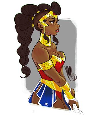 Melmade O Blog O Que Eu Atualizo Wonder Woman Art Black Girl Art Black Women Art