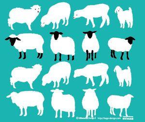 羊のイラスト画像 未年 15年 ひつじ Naver まとめ Sheep Art Illustration Design Animal Illustration