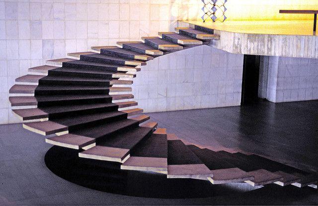 Itamaraty Palace - Ministry of External Relations in Brasilia, Brazil by Architect Oscar Niemeyer