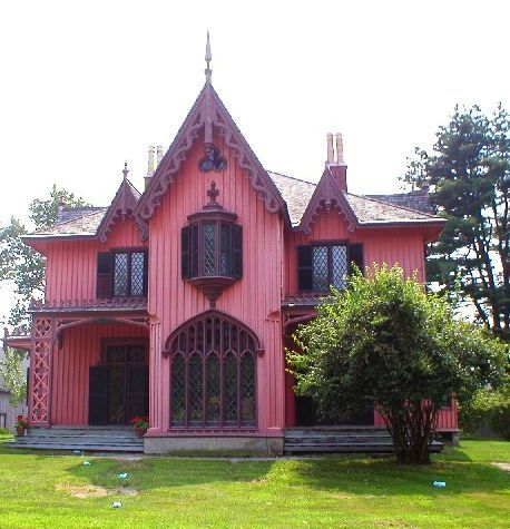 Gothic Architecture House roseland from http://historichouseblog/2009/02/22/historic