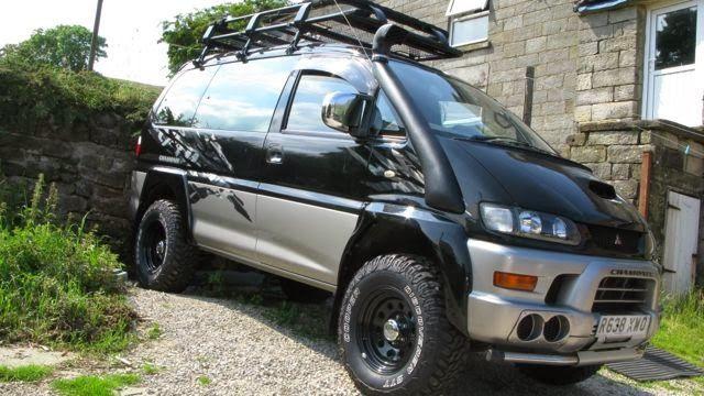 Hiace Hobo - Living in a Toyota Camper Van: Mitsubishi Delica Chamonix 4WD Off-Road Camper Van