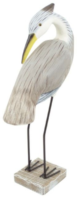Aigrette en bois d coration marine mouettes for Decoration marine bois