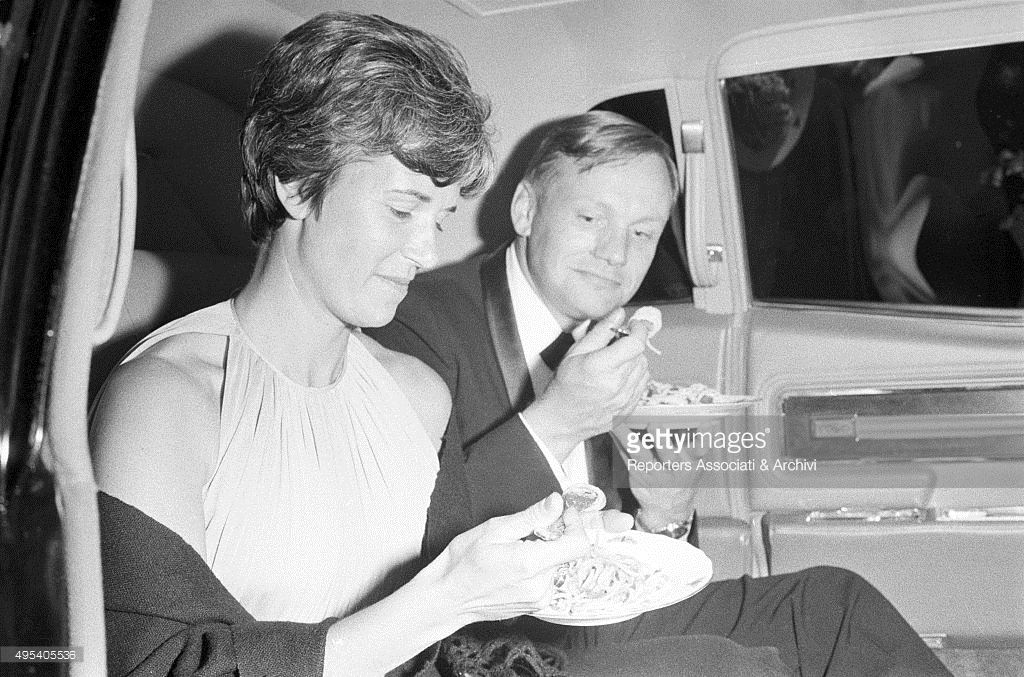 American astronaut and aviator Neil Armstrong and his ...