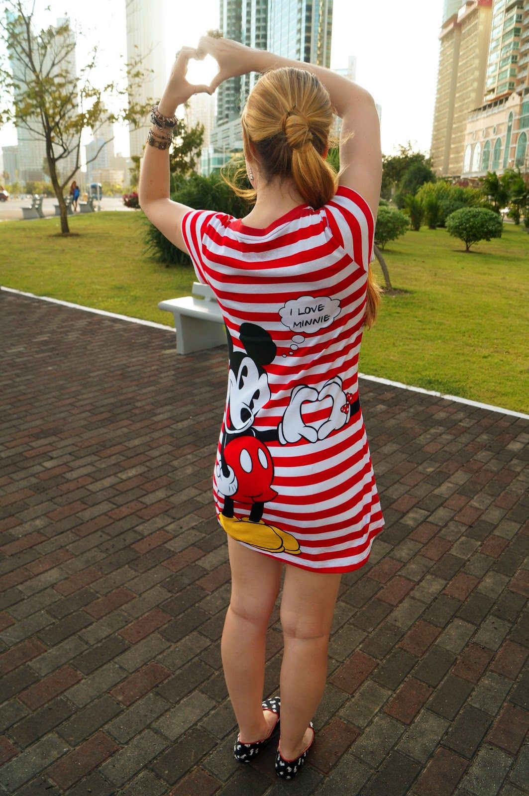 d6403d2f5e906 Adorable Mickey Mouse dress from Walmart