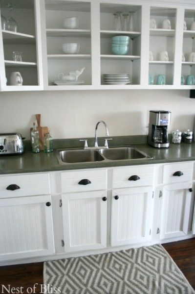 How To Create Faux Granite Countertops Using Spray Paint