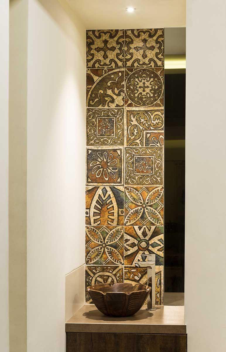 Interior Designers Thane Shabby Chic Bathroom Wall Decor