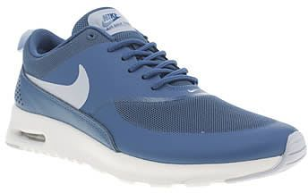 new style b98c0 86b37 Womens delft nike blue air max thea trainers from Schuh - £90 at  ClothingByColour.