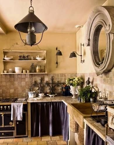 Beautiful kitchen Prato fiorito Pinterest - cuisine a l ancienne