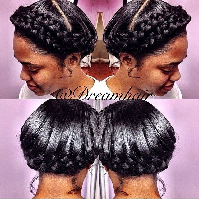 Great Protective Crown Braids Http Community