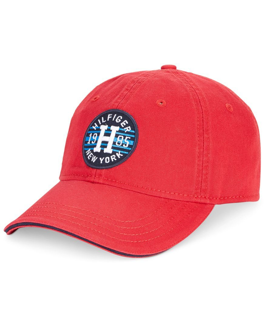 e82e54e00b3 Tommy Hilfiger Men s Preston Logo Patch Hat