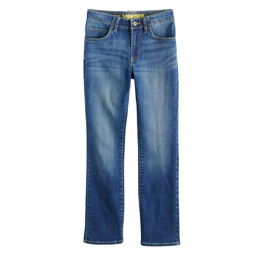 f26b95ca Boys 8-20 Lee Sport Xtreme Comfort Slim-Fit Straight-Leg Jeans In Regular,  Slim & Husky, Size: 12, Blue