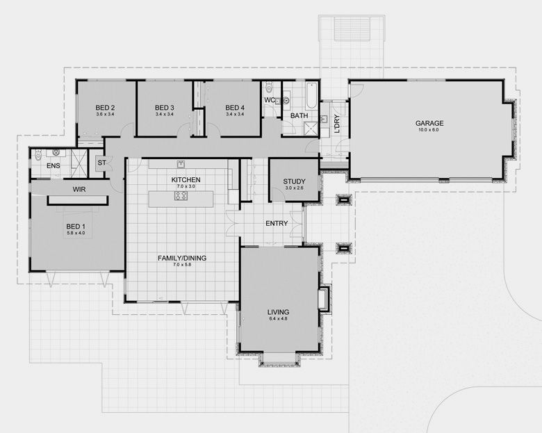 David Reid Homes Lifestyle 5 Specifications House Plans Images Like The Size Of The Kitchen Area Prefab Homes House Plans New Zealand Houses