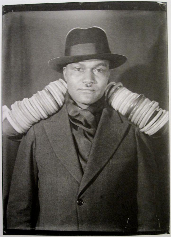 Man Ray: Henry Crowder, Paris, 1930  (Arms of Nancy Cunard)