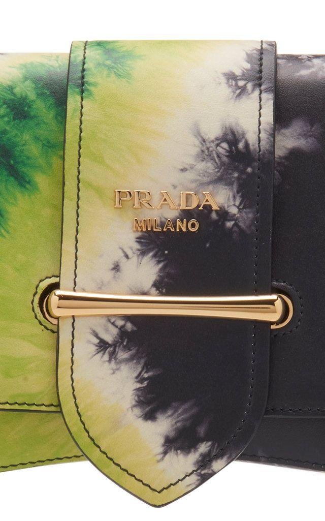 8f0b5b17 Prada Pattina Tie-Dye Leather Shoulder Bag | Products in 2019 | Bags ...