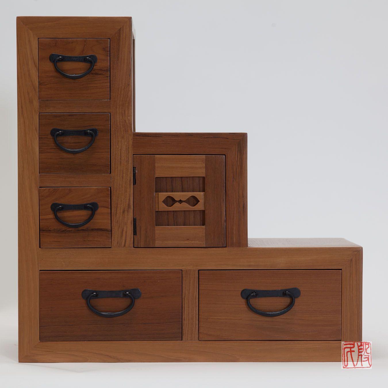 Furniture · Japanese Kaidan Tansu, Step Chest ...