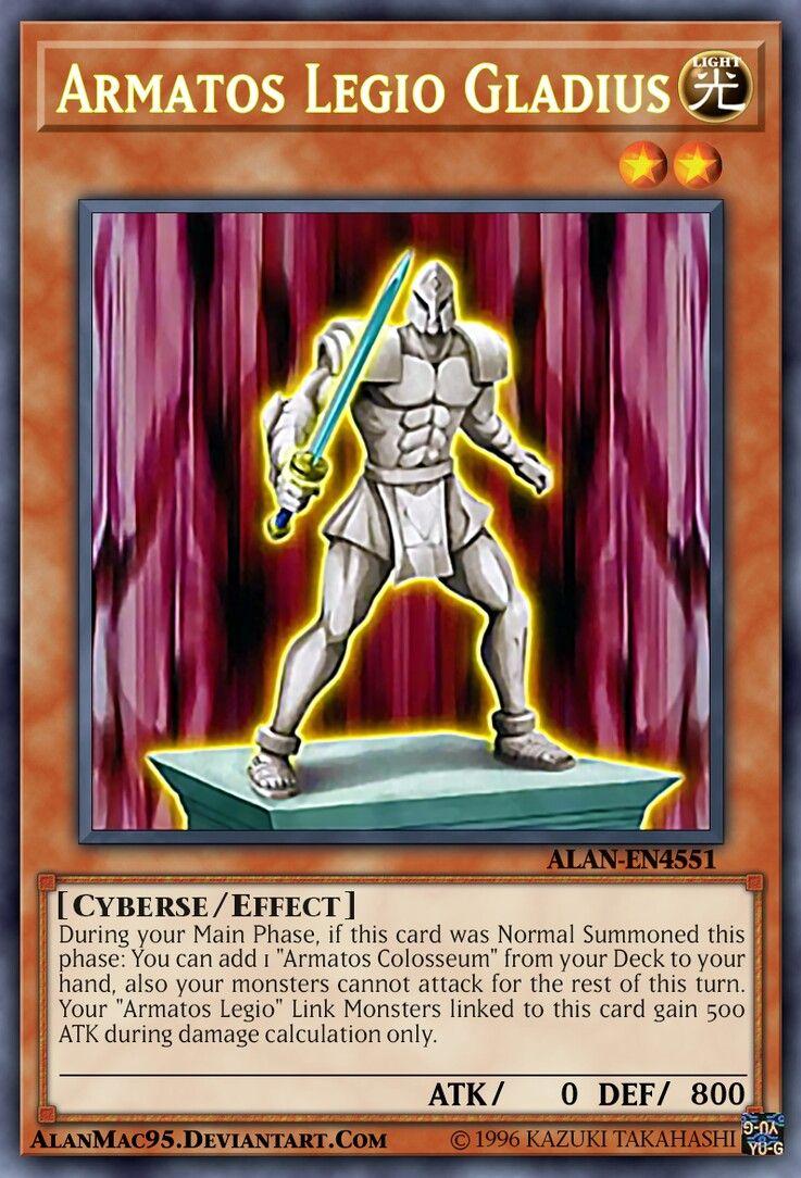 Armatos Legio Gladius Yugioh cards, Yugioh, Yugioh