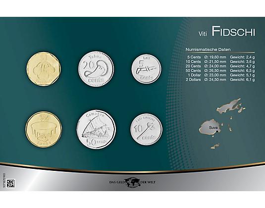 Kursmünzensatze Fidschi Mdm Deutsche Münze Oceaniapacific
